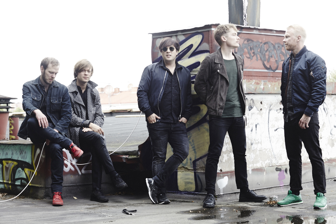 Schwedische Band Mando Diao (Foto: Press)