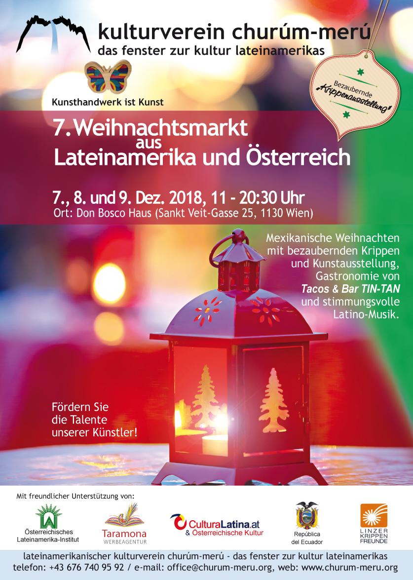 7 Weihnachtsmarkt Aus Lateinamerika Und Osterreich Culturalatina At