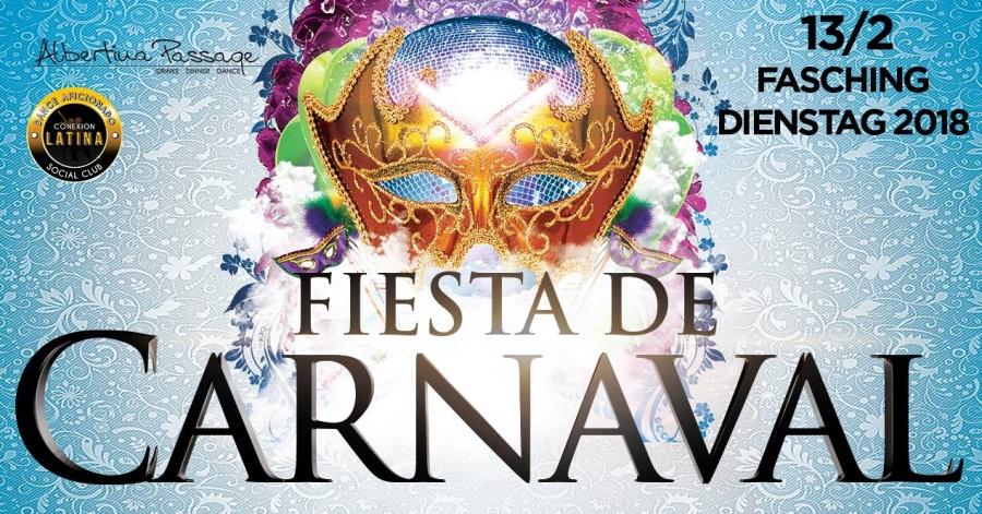 Latino Faschings Dienstag 2018 Im Albertina Passage Culturalatina At