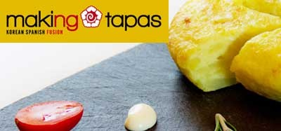 "Restaurant ""making tapas"" -  korean spanisch fusion"
