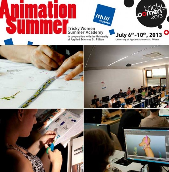 Animation Summer - Tricky Women Summer Academy: 6. bis 10. Juli