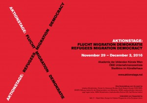 Aktionstage: Flucht – Migration – Demokratie