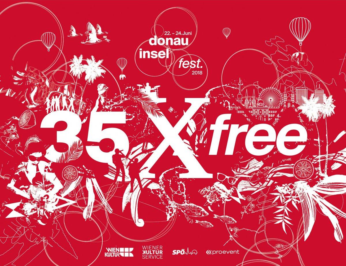 Donauinselfest 2018 Feiert 35 Jähriges Jubiläum Mit Programm