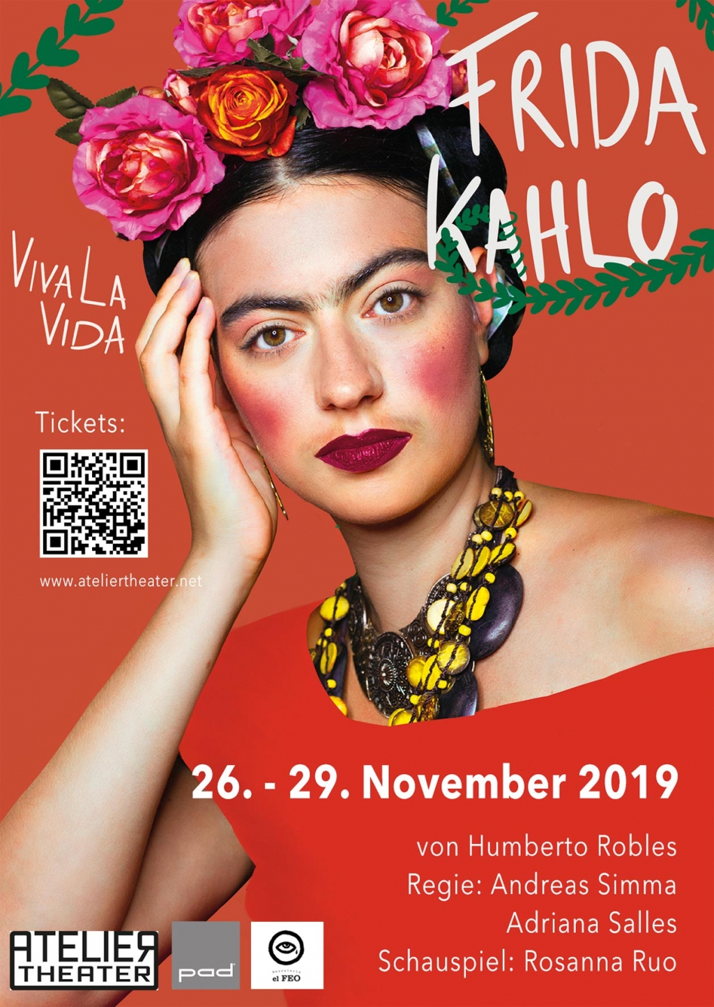 Theater mit Frida Kahlo!